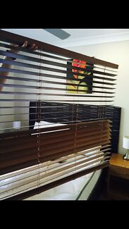Wooden Venetian Blinds x 8 Bli Bli Maroochydore Area Preview