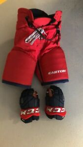 Hockey Pants & Gloves