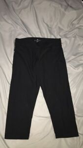 Adidas Woman's Black Cropped Leggings