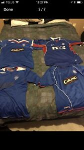 Rangers fc & Liverpool fc soccer jerseys and items