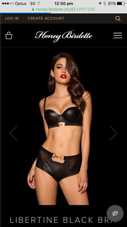 Honey Birdette Libertine 10D &a XS new with tags