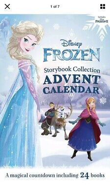 New 2020 Disney Frozen Storybook Collection Advent Calendar Fast Shipping