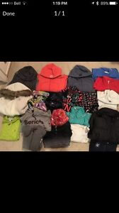 Brand name sweaters barely used!