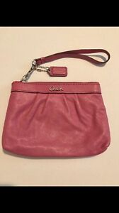 Authentic Coach Wristlet/ Clutches