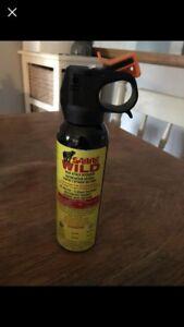 Unused Bear Spray