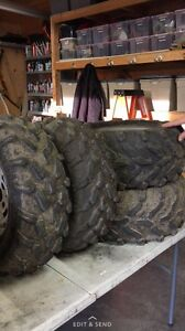 Four wheeler tires