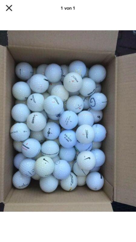 100 Golfbälle Top Marken in Qualität AA/AAA