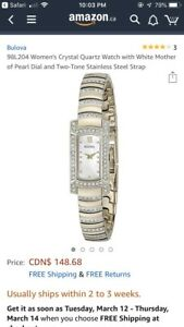 Bulova woman's watch