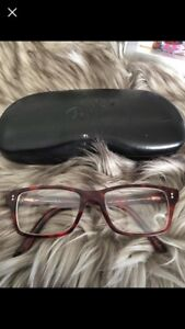 RAYBANS GLASSES WITH CASE