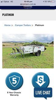 AJC camper trailer
