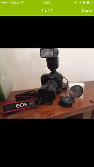 Nice Canon 7D bundle McDowall Brisbane North West Preview