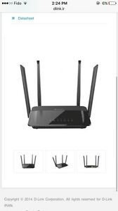 D-Link Wifi Router AC 1200 dualband with Free Roku 2