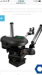 Looking for 2 Scotty Electric Downriggers