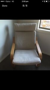 IKEA rocking chair with foot stool Ashmore Gold Coast City Preview