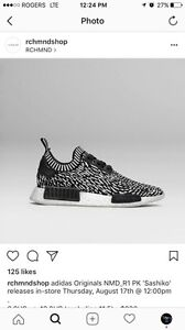 Nmd r1 pk.   Size 8 mens