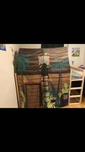 Ikea jr loft bed frame with canopy