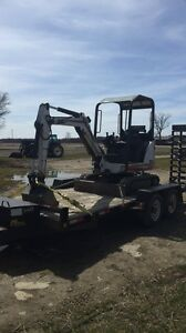 2003 bobcat 322 mini ex