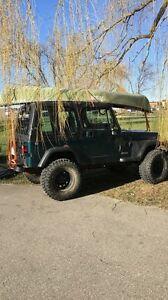 Jeep yj 1995 for sale or trade