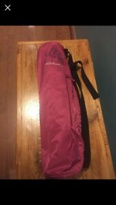 Lululemon reversible yoga mat and carry bag with strap