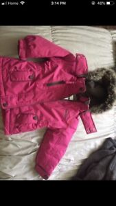 Girls toddler winter set size 24 months