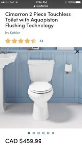 *Brand NEW* Kohler Cimarron No Touch Flush Toilet