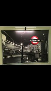 London under ground picture with LED light Subiaco Subiaco Area Preview