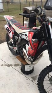 Immaculate 2001 cr250
