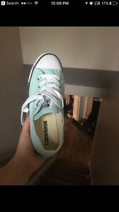 Mint converse womens size 5 REDUCED $20
