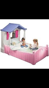 Little tikes doll house bed