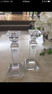 Wanted: Versace candle holders x2 - ship Aust wide $1000 new, Xmas present
