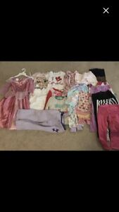 Lot- girls clothing age 4 to 5