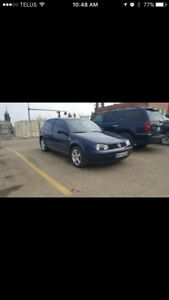 2.0L Vw Golf 2 door