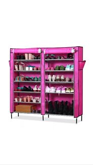 Portable Shoe Wardrobe Clarkson Wanneroo Area Preview