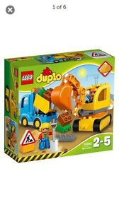 LEGO DUPLO EXCAVATOR & TRUCK SET - BRAND NEW Bald Hills Brisbane North East Preview