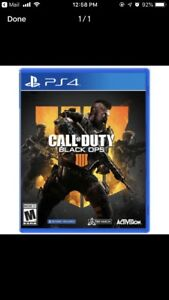 Call of Duty Black Ops 4 PS4. Brand New and Sealed