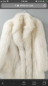 *Looking for a white (faux) fur coat