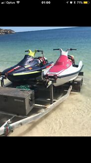 2x jet skis. VXRPro his and hers