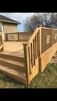 Professional Fence/ Deck Construction and custom sheds