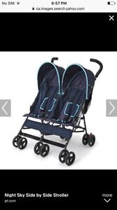 Looking for side by side stroller