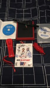 Wii mini with 3 games and controllers