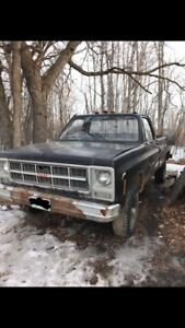 1980 gmc K2500 camper special part out