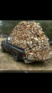 Outdoor firewood spruce pine mix XXL bags ready to burn
