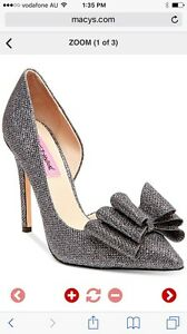 Womens Shoes size 7 , sparkly dark silver/pewter brand new Carindale Brisbane South East Preview
