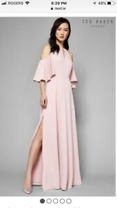 Ted Baker Maxi Dress Size 2 (US Size 6)