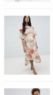 Stunning Floral Hope And Ivy Maternity Dress