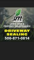 Driveway Sealing in Greater Moncton Area!