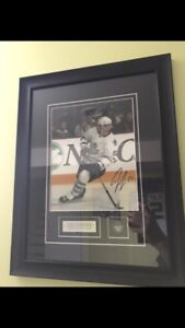 Jake Gardiner Maple Leafs Autographed Picture and Frame