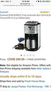 Cuisinart Auto Grind and Brew Coffee Maker