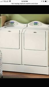 Maytag Neptune washer and GAS dryer