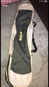 Snowboard bag for sale.